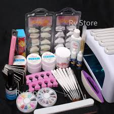 Kiss Uv Gel Lamp Walmart by Nail Ideas Nail Art Kit Seashells Manicure Diy Popsugar Beauty