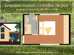 extension chambre projet pour extension maison chambre de plus extension de maison