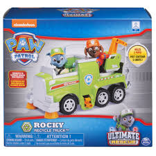 100 Toy Moving Truck Paw Patrol ULTIMATE RESCUE Rockys Recycling With