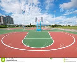 terrain de basket exterieur terrain de basket extérieur photos stock image 21494613