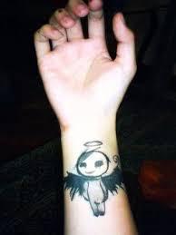 Alien Angel Tattoo