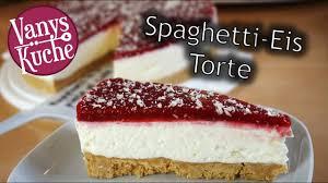 spaghetti eis torte ohne backen