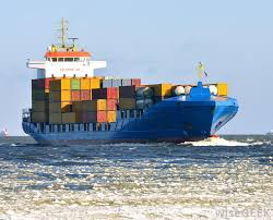 Cargo Ships Carry Many Shipping Containers