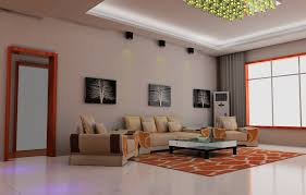 living room ceiling lights and wall decoration including