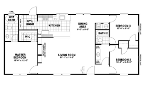 Fleetwood Triple Wide Mobile Home Floor Plans by Clayton Homes Floor Plans Clayton Homes 743 Rivercrest 32764v