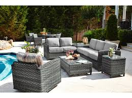 beachcraft outdoor patio lorca collection lorca sectional zing