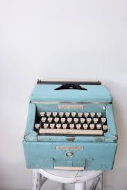 vintage typewriter mobilier vintage machine à écrire des temps
