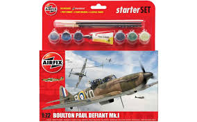 AIRFIX A55213 BOULTON PAUL DEFIANT MKI STARTER SET 1:72 - The ...