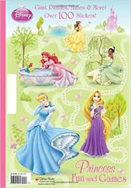 Princess Fun And Games Disney Giant Coloring Book Amazoncouk Random House Storybook Artists Francesco Legramandi
