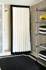 Chevron Print Shower Curtains by Black Chevron Curtains With Chevron Print Shower Curtain Bathroom