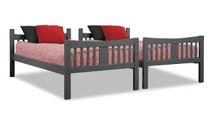 Storkcraft Bunk Bed by Storkcraft Caribou Twin Over Twin Bunk Bed Walmart Com
