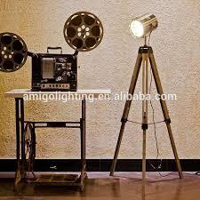 Royal Master Sealight Floor Lamp by Antique Wooden Tripods From Antique Wooden Tripods From Suppliers
