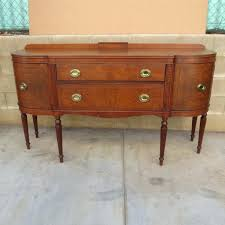 Antique Dining Room Buffet Server Sideboards And Buffets Mirror All