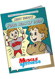Customized Coloring Books Meet Buddy Healthy Body