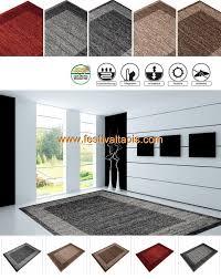grand tapis cuisine tapis look contemporain grande salon d entrée couloir loures
