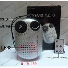 wholesale bathroom waterproof spy radio camera dvr motion