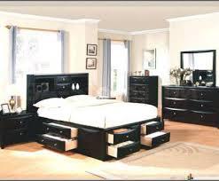 außergewöhnliche betten schlafzimmer ideen schwarzes