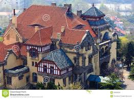 100 German Style House Plans Old Architecture Stock Photo Image Of