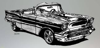 24 Draw Chevy Truck Average 57 Chevy Convertible Drawn With Pencil ...