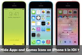 Apps and Games Icons on iPhone 5 in iOS 7 Without Jailbreaking