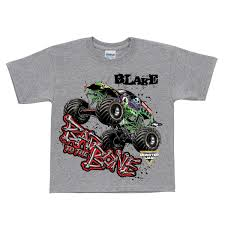 100 Monster Truck Shirts Jam Bad To The Bone Gray Tshirt T Clothing