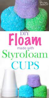 DIY Styrofoam Cup Floam Design Dazzle
