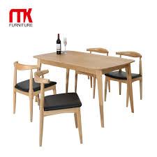holz eiche esszimmer set esstisch möbel moderne esstisch set tisch und stühle buy billigen esszimmer sets esszimmermöbel klassischen esszimmer sets