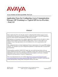 Avaya CM To SIP Provider   Session Initiation Protocol   Voice Over Ip Sip Trunkuc Workshop It Expo Ppt Video Online Download High Performance Trunking Termination Service Using China Voip Sip Provider Manufacturers And Asteriskhome Handbook Wiki Chapter 2 Voipinfoorg Best 25 Trunking Ideas On Pinterest Telecommunication Shortlist The Best Sip Providers According To Their Services By Business Trunk Broadconnect Usa The Hosted Voip Solutions Allinone Lync Sver For Skype Switchvox Cfiguration Onsip Support Providers That Offer Free Accounts Cme Trunk With Sonus Gsx9000 Hd No Cisco Community