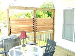 Outdoor Privacy Ideas Patio Privacy Screen Best Outdoor Privacy