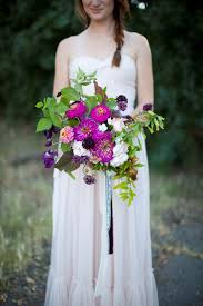 Bridal Bouquet By Verbena Flowers Trimmings Photo C Colleen Riley Photography