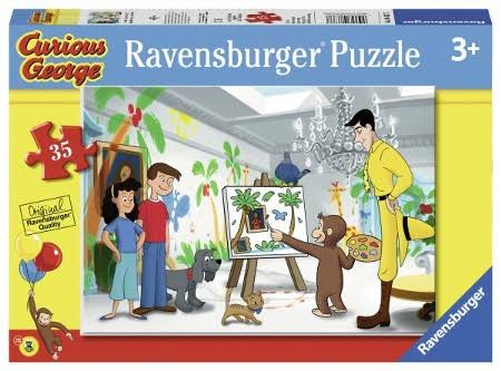 Ravensburger Look Curious George! 35 Piece Puzzle