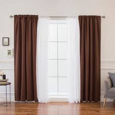 Bed Bath And Beyond Curtains Blackout by Buy Brown Blackout Curtains From Bed Bath U0026 Beyond
