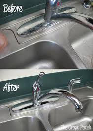 stainless steel sink cleaner the craft patch tested
