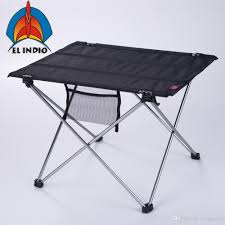 EL INDIO Ultralight Portable Folding Table Compact Roll Up Tables With  Carrying Bag For Outdoor Camping Hiking Picni