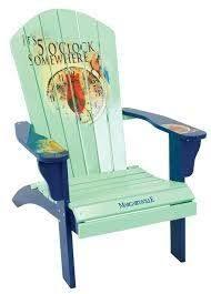 Custom Painted Margaritaville Adirondack Chairs by Florida Adirondack Chair Painted With Pink Flamingo And Sun Http