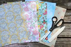 Supplies For Making Paper Butterflies