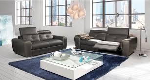 canape mobilier de canape 3 places relax avec tetieres relevables caravel mobilier de