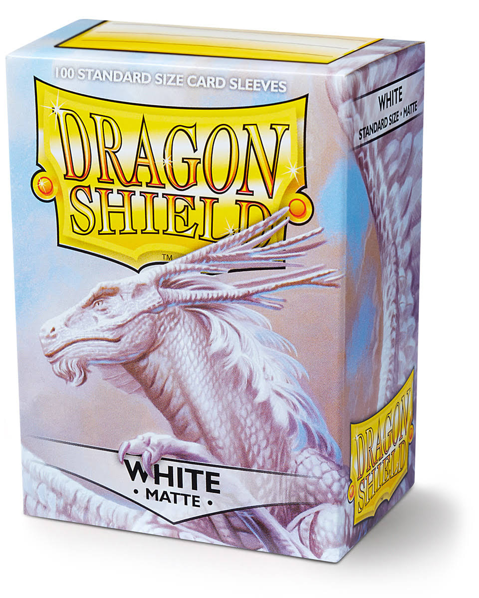 Dragon Shield Matte Sleeves - White