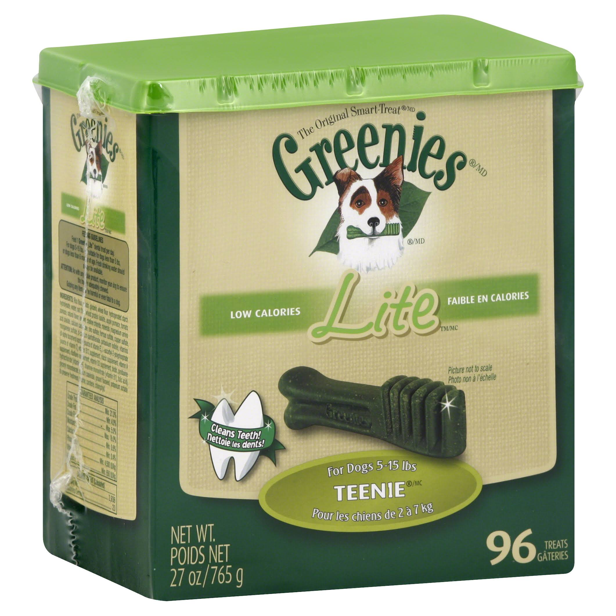 Greenies Lite Teenie Dog Dental Treats - 96 ct
