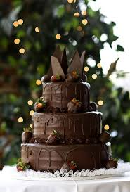 Amanda Mahoney Chocolate Grooms Cake One Layer For Twelve People Super Rich And Moist Dark Choc Flavors Pair Of Bride Broom Dipped