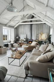 Rustic And Vintage Attic Living Room