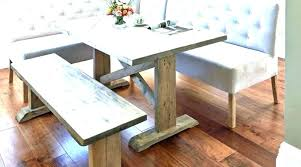Dining Table With Bench Seats Corner Room And Benches Set Seat
