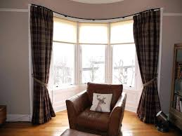 Dining Room Bay Window Curtain Ideas Treatment Formal Pictures Gorgeous Good