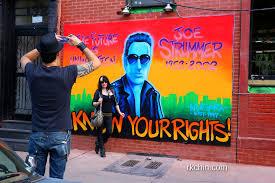 Joe Strummer Mural Portobello Road by Joe Strummer Mural New York City 100 Images Ev Grieve The Joe