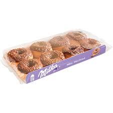 milka mini donut 8 stück