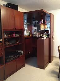 wohnwand wohnzimmer kasten bar