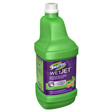 Pledge Floor Care Multi Surface Finish Future by Swiffer Wetjet 42 Oz Antibacterial Floor Refill With