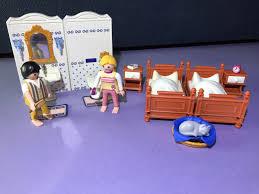 игрушечый кукольный домик playmobil playmobil konvolut nostalgie puppenhaus mbel badezimmer schlafzimmer figuren