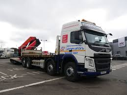 100 Martinez Trucking 44 Tonne Volvo FM 420 Wagon And Drag With Palfinger Crane