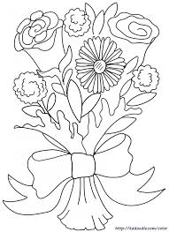 Flower Doodle Art Alley Coloring Pages